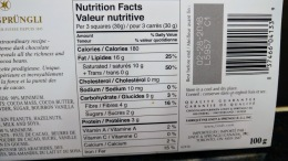 Has less sugar