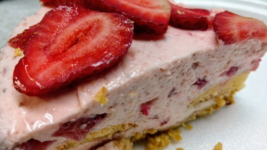 Strawberry mousse cake 2