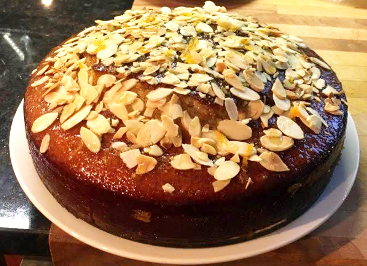 French Almond Cake - update